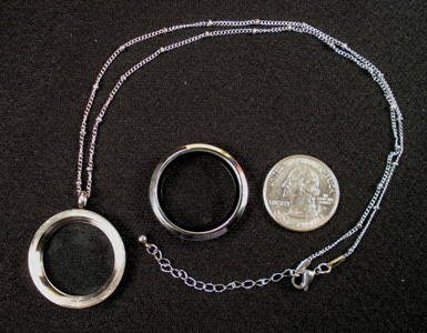Living Locket & Chain