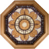 Nantucket Compass Rose